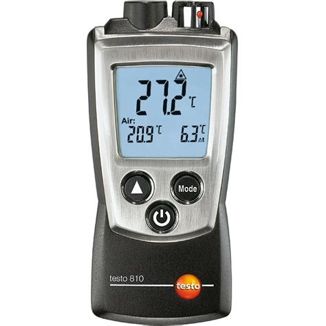 stuff testo testo 810 air surface temperature thermometer drinkstuff