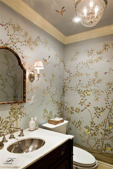 wallpaper trends for bathrooms predicting 2016 interior design trends