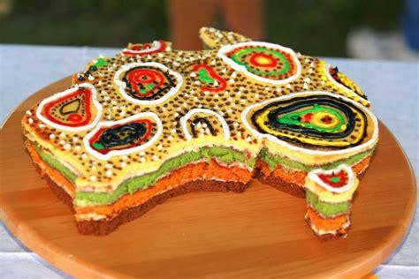 australien kuchen an australia day cake sits ready to be eaten abc news