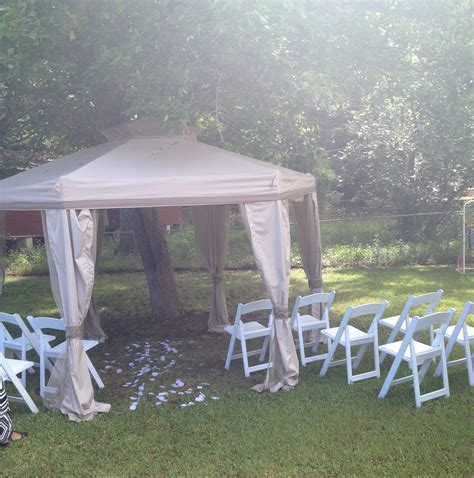 Wedding Ceremony At Home by Tallahassee Home Wedding Ceremony
