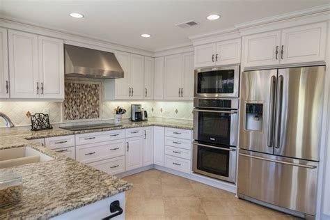 Kitchen Cabinets Ventura County by Dynasty Wakefield Maple Pearl Caramel Traditional