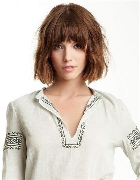 blunt cut hairstyles with bangs 18 great bob hairstyles for medium hair 2015 pretty designs