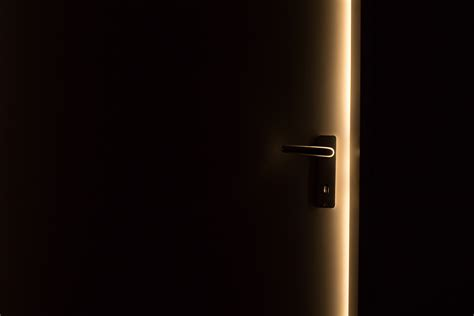 steel door handle on door 183 free stock photo