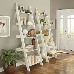 ladder shelf white catalog spree pin to win