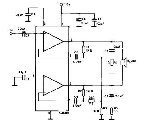 bridged lifier diagram lifiercircuits tda lifiers
