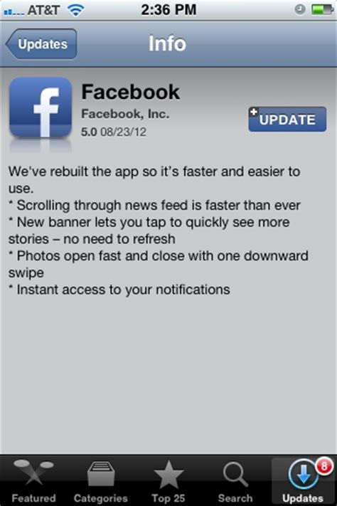 fb app facebook updated for iphone ipad and android download