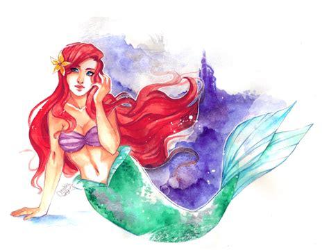 Disney Princesses Ariel By Utenaxchan On Deviantart Disney Princess Ariel Drawings
