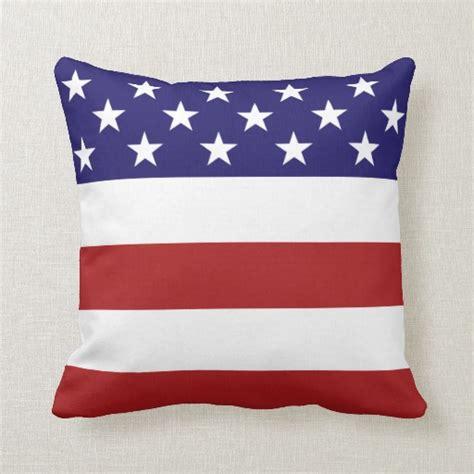 america pillow american flag throw pillow zazzle