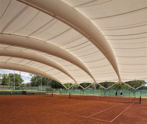 Sports Canopy National Tennis Centre Roehton E Architect