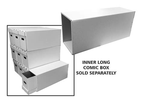 comic house box file drawer for books with inner