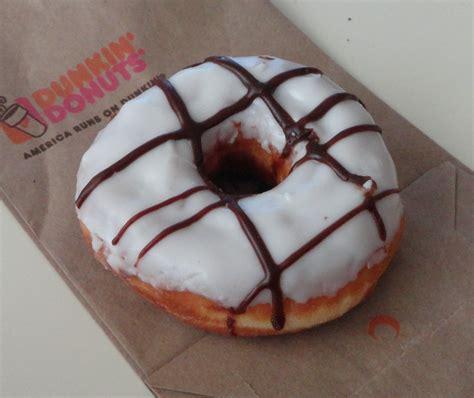 dunkin donuts light menu sesame seed mouthful of