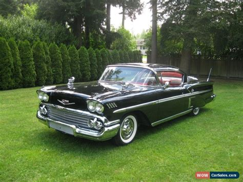 1958 chevrolet impala for sale in canada