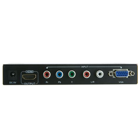 Audio Vga To Hdmi Converter vga component rca stereo audio to hdmi converter