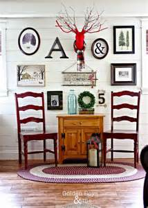 Winter Home Decorating Ideas Winter Themed Gallery Wall Decor Ideas Hometalk