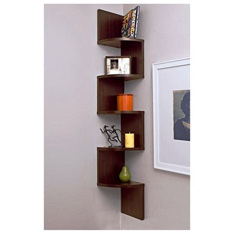 2 Corner Wall Shelves Step Shelf Wall 5 Shelves Unit Wall Bookshelves For Walls