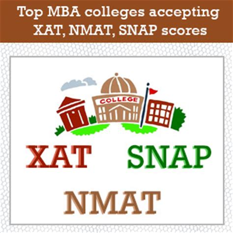 Nmat Mba by Top Mba Colleges Accepting Xat Nmat Snap Scores