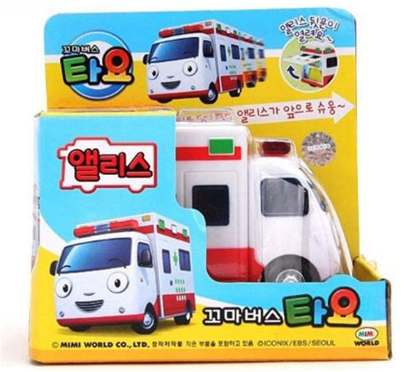 Tayo Mainan Anak Tayo 1 Set Pull Back the tayo korean character pull back car vehicle ebay