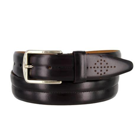 lejon belt 13238 s leather dress belt 1 3 8 quot wide made
