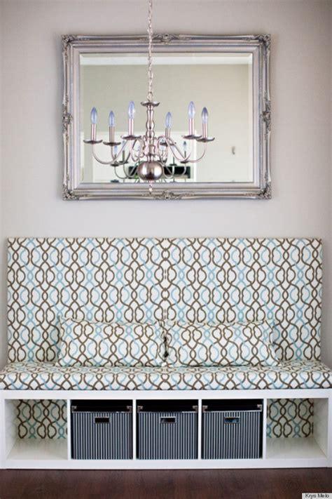 Banquette Hack by Diy Hack Is The Prettiest Banquette Seat We Ve