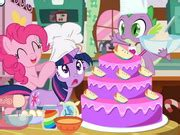 play cake games online for free mafacom my little pony cooking cake play the game online 4 free