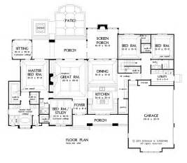 House Plans With Large Kitchens Open Living Archives House Plans Blog