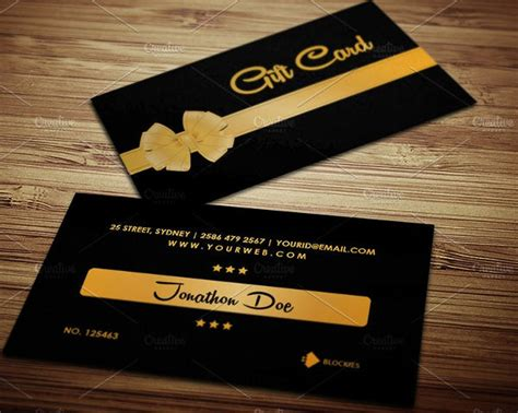 Customized Gift Cards For Business - 70 psd business cards free psd eps vector ai jpg format download free