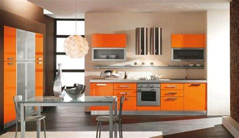 cucina arancione cucine colorate moderne e non foto nanopress donna