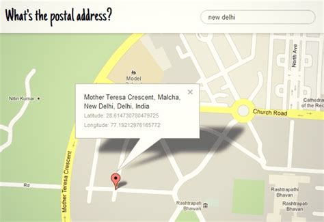 Postal Address Finder Find The Address Of A Place Through Maps