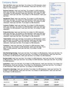 one page executive summary template best photos of one page executive summary exle