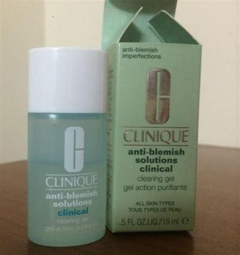 Clinique Anti Blemish Solution Gel is clinique anti blemish solutions clinical clearing gel