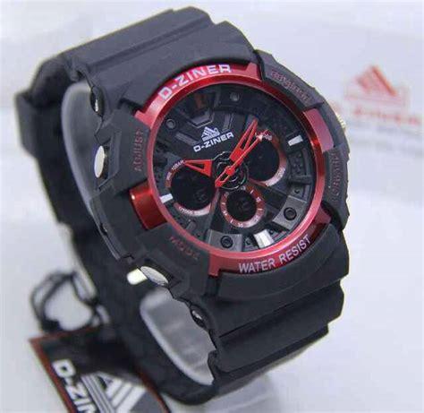 Jam Tangan Pria Dzner Dz 8140 Silver Dualtime Rantai Original Murah jam tangan d ziner dz 8019 ga200 original