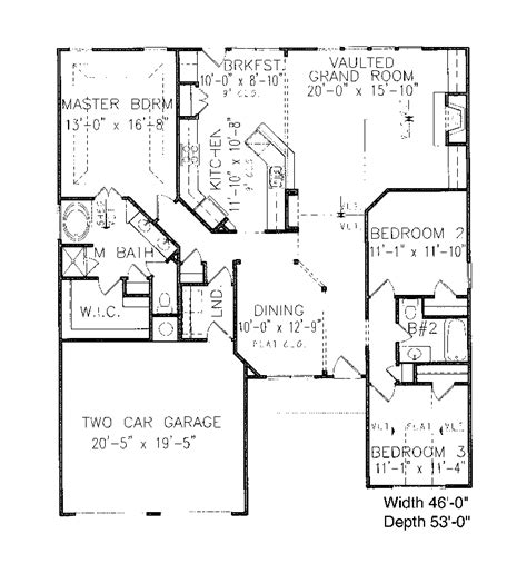 neoclassical floor plans goodlae neoclassical ranch home plan 056d 0026 house plans and more