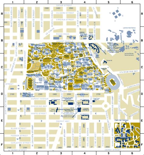 uc berkeley cus map housing map housing