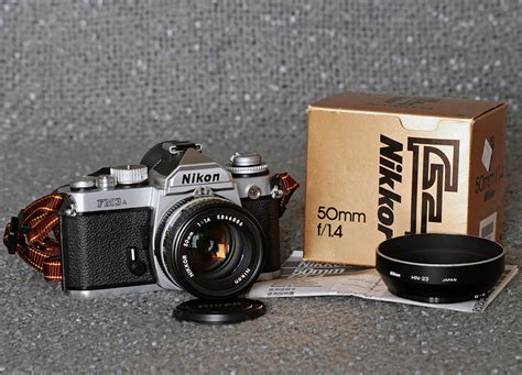 Kamera Nikon Fm3a fotozbiornik kolejne marzenie spe蛯nione nikon fm3a