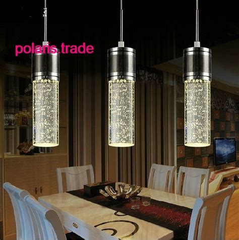 3 Lights  NEW LED Crystal Bubble Shade Ceiling Light Pendant Lamp Chandelier Stuff to Buy