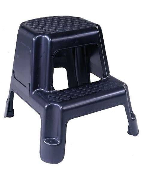 Cosco Two Step Stool by Cosco 11 911blk Two Step Molded Step Stool Black Ebay