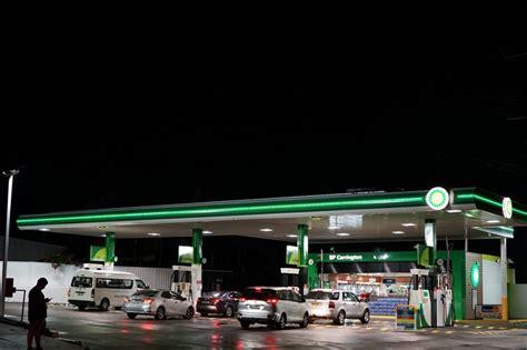 service station lights bp service station led lighting upgrade led