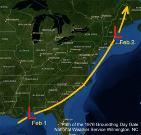 groundhog day gale top 20 storms in wilmington carolina s history