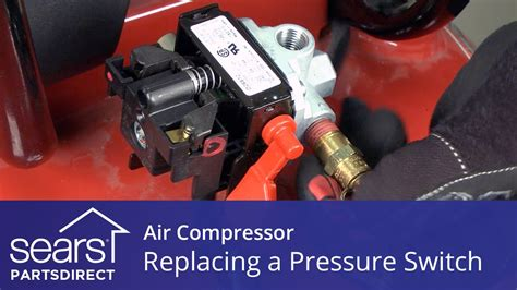 replace  air compressor pressure switch youtube