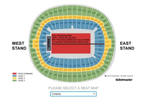 wembley floor plan wembley stadium floor plan will the tour feature a stage