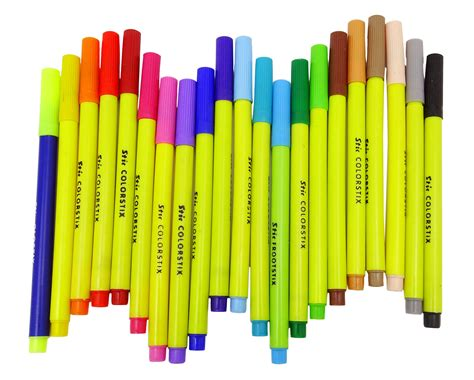 stic colourstix sketch pens stationery suppliesdrawing