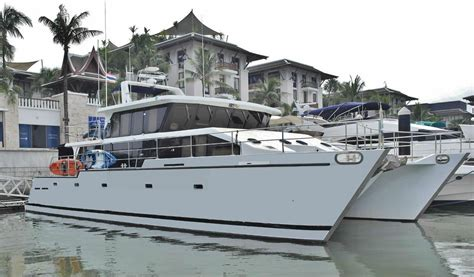 catamaran expedition yacht 2007 expedition power catamaran power boat for sale www