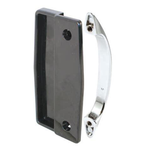 sliding screen door pull prime line 4 quot black plastic sliding screen door pull with
