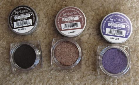 L Oreal Infallible Eyeshadow l oreal infallible eyeshadows makeup reviews