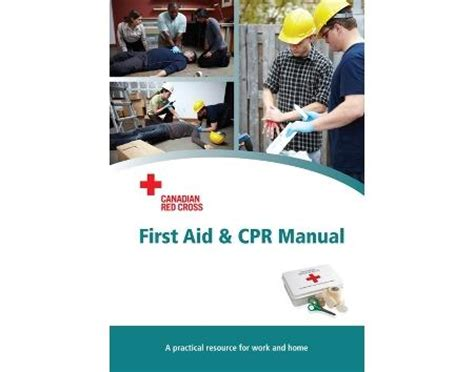 canadian cross aid cpr manual certification cards not included