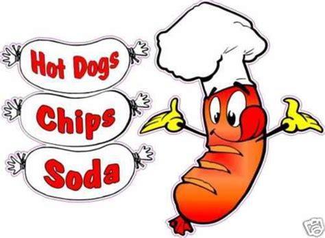 hot chips clipart hot dogs combo chips soda restaurant concession food truck
