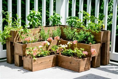 diy herb garden box 65 inspiring diy herb gardens shelterness