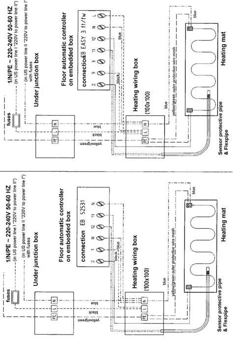 underfloor heating contactor wiring diagram 43 wiring