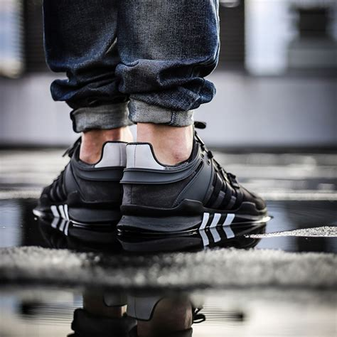 Sepatu Sneakers Adidas Equipment Support Adv Grey Black adidas eqt support adv 91 16 black grey bb1297 i fastsole co uk
