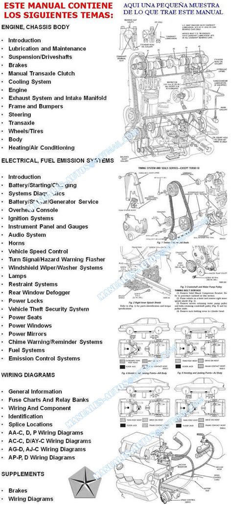 automotive service manuals 1994 dodge spirit transmission control shadow spirit lebaron new yorker 1987 1988 1989 1990 1994 manual de reparacion y mecanica